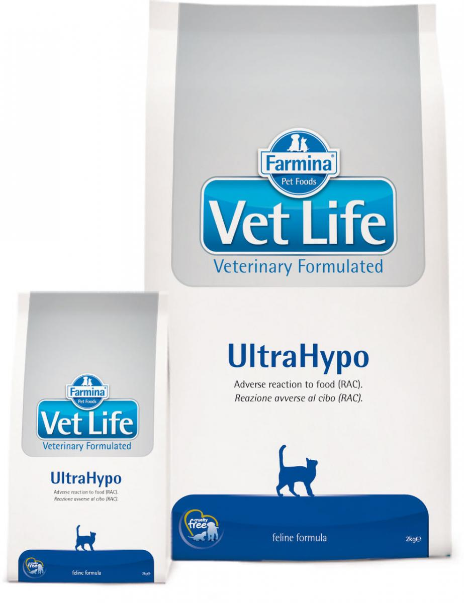 Farmina Vet Life Cat Ultrahypo Для кошек (Сухие корма для кошек)